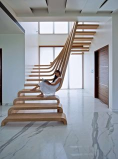Fabulous stair concept!