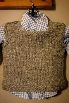 Ravelry: baby t-shirt vest pattern by sam lamb