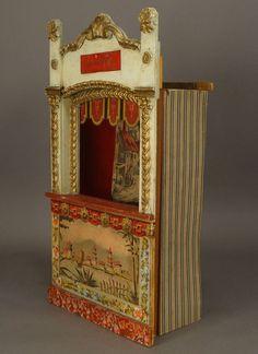 Résultats de recherche d'images pour « old theater puppets design Paper Puppets, Paper Toys, Paper Crafts, Antique Toys, Vintage Toys, Victorian Toys, Punch And Judy, Toy Theatre, Marionette Puppet