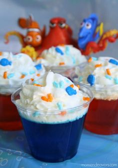 Finding Dory Party Dessert