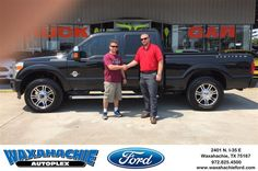 #HappyBirthday to Tim from Shawn Raleigh at Waxahachie Ford!  https://deliverymaxx.com/DealerReviews.aspx?DealerCode=E749  #HappyBirthday #WaxahachieFord