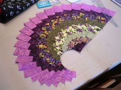 Bigfork Quilts Etc: Spicy Spiral Table Runner Class. . .