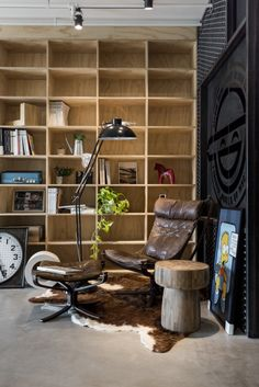 Home Designing — (via An Eclectic Loft Designed for Cats (and their...