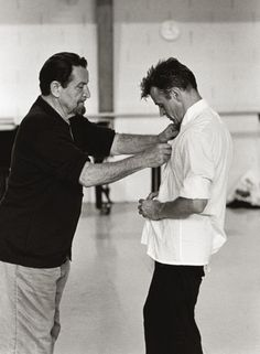 Maurice Béjart & Mikhail Baryshnikov, Lausanne 1997
