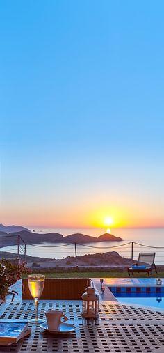 Sunset in Bali, Rethymno, #Crete