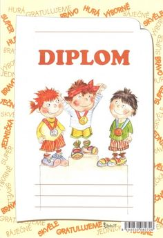 Diplom A5 stupně vítězů – Knihkupectví Neoluxor
