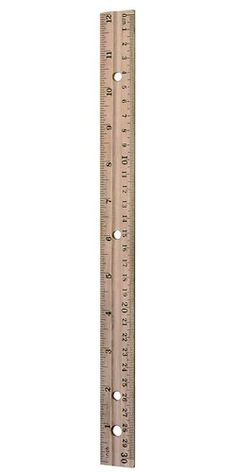 St@llion 2 Piece Set Stainless Steel Rule Metric Rulers Kit for Engineering Teaching 12 and 6