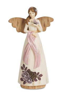 Pavilion Gift Company 41039 Simple Spirits Survivor Angel Figurine, 7-1/2-Inch