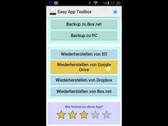 Guide to Backup Installed Apps in Android Device to Google Drive, Dropbox etc. without Rooting