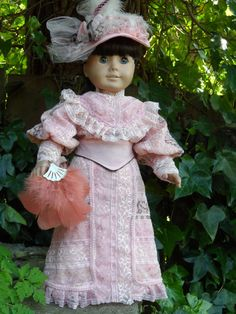Edwardian Outfit for your American Girl by CarmelinaCreations