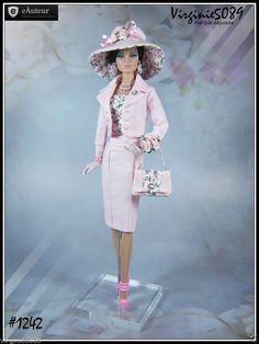 Tenue Outfit Accessoires Pour Fashion Royalty Barbie Silkstone Vintage 1242 | eBay