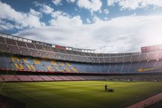 Internet services specialist eBusiness UK has won a contract to build an online web presence for Faris Mousa and his property firm Bluefig Investments. Parions Sport, Football Field, Camp Nou, Book Making, Free Stock Photos, Landscape Photography, Online Business, World, Sports