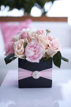 Ooh La La Pink Parisian Themed Flower Fantasy Luxury Baby Shower | Baby Lifestyles
