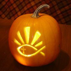 Religious Pumpkin templates