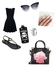 """""""Untitled #29"""" by jaayisbae ❤ liked on Polyvore featuring Oasis, IPANEMA, Calvin Klein, Gucci and Valfré"""