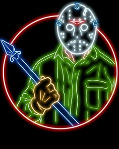 Jason Friday, Friday The 13th, Happy Friday, Horror Icons, Horror Movie Posters, Video Game Show, Slasher Movies, Horror Artwork, American Psycho