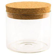 GONGFU CHA - Tee Aufbewahrung - Behältnis - Haushalt - Lagerung - Glas - Kork