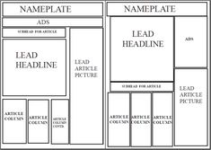 graphic relating to Free Printable Newspaper Template named 15 Ideal newspaper template pictures inside 2017 Newspaper