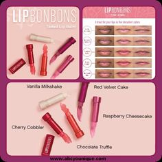 """Who else is EXCITED about our NEW Bon Bons Tinted Lip Balm!? """"Shake Your Bon Bon, Shake Your Bon Bon!"""" #younique #bonbons www.youniqueproducts.com/BrookeElizabeth/products/landing"""