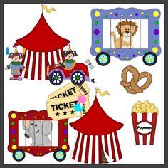 Circus 3 Clipart