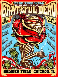 Grateful Dead x Munk One July 3rd,4th and 5th, 2015 (BROWN AP) Set