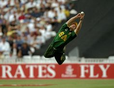 When Jonty Rhodes was adjudged Man of the Match without actually playing