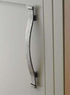 Solid Pewter Strap Handle