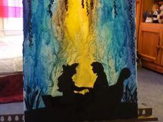 My melted crayon art :) Crayon Canvas Art, Disney Canvas Art, Canvas Art Quotes, Abstract Canvas Art, Disney Art, Diy Canvas, Wax Art, Melting Crayons, Love Art