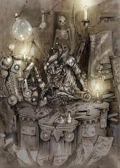 steampunkart - Google Search