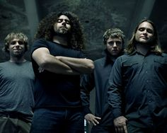 Coheed & Cambria (Would you believe that voice comes out of that guy?)