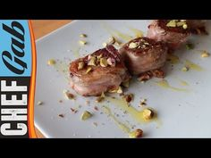 Ricetta filetto lardellato con pistacchi - Chef Gab - YouTube
