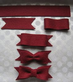 DIY ribbon.