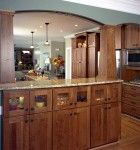 Love these cabinets - kitchen designed by Cederberg Kitchens & Additions in Chapel Hill, NC