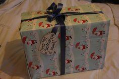 Christmas Eve Box - Include: New pajamas, a Christmas movie, popcorn, mugs, hot chocolate, marshmallows, and a Christmas book. Fun tradition