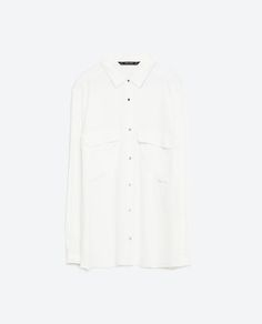 Image 6 of SHIRT WITH GOLDEN BUTTONS from Zara