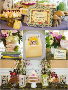 Fairy Tale First Birthday Party {Featured on HWTM} cherishpaperie.com