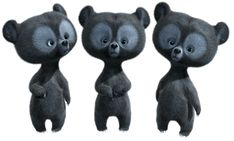 three little bears 3d Character, Character Concept, Character Design, Arte Disney, Disney Art, Rebelle Disney, Princesa Merida Disney, Brave Cartoon, Pixar