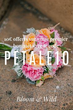 jolie bouquet de fleurs style champêtre idée de cadeau originale fleur  mariage conseils de fleuriste couper les tiges code promo réduction  bouquets de ... 55f1dfb717c
