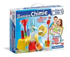 Clementoni – 52074.9 – Jeu Scientifique – Ma Première Chimie