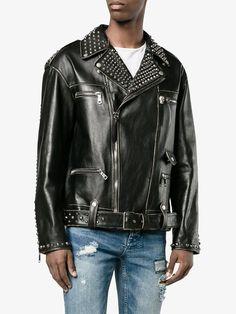 Gucci 킹 찰스 스패니얼 바이커 재킷