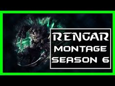 【League of Legends 2016】Best Rengar Plays Montage Season 6 (#1)