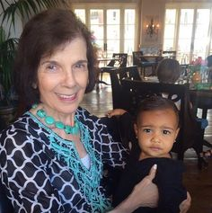 """I feel so blessed that my daughter gets to grow up knowing my amazing beautiful grand mother. Life is all about memories so take lots of pics and cherish all of the good memories!#HappyMothersDay"" --Kim Kardashian West, who posted this photo of daughter North West with her great grandmother Mary Jo Campbell on May 10, 2015"