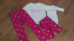 Hey, I found this really awesome Etsy listing at https://www.etsy.com/listing/256736438/newborn-toddler-girl-big-sister-little