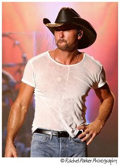Tim McGraw!!! - Oh Yeah! Saw him in concert in Peoria and touched him about 4 times. He loves his fans and we love him!