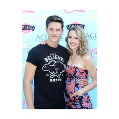 Shane Harper and Bridgit Mendler Photo ❤ liked on Polyvore featuring backgrounds and shane harper