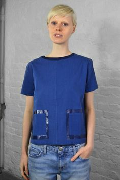 Levi's Made & Crafted Woven Denim Tee | The Mercantile London