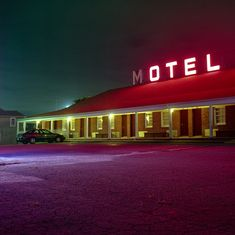 Is this Beltway Motel!? ahah SO SKETCH, but a gorgeous shot!