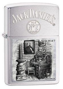 Zippo Jack Daniels Scenes From Lynchburg # 4 by Zippo