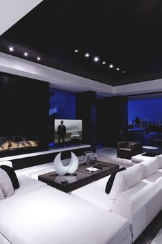 I want my man cave to be the whole basement so this would be a nice room...