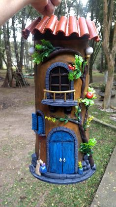 Tile Crafts, Clay Crafts, Diy Quiet Books, Fairy Garden Houses, Clay Art, Doll Toys, Unique Art, Christmas Decorations, Pottery
